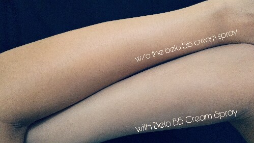 Belo BB Cream Spray review