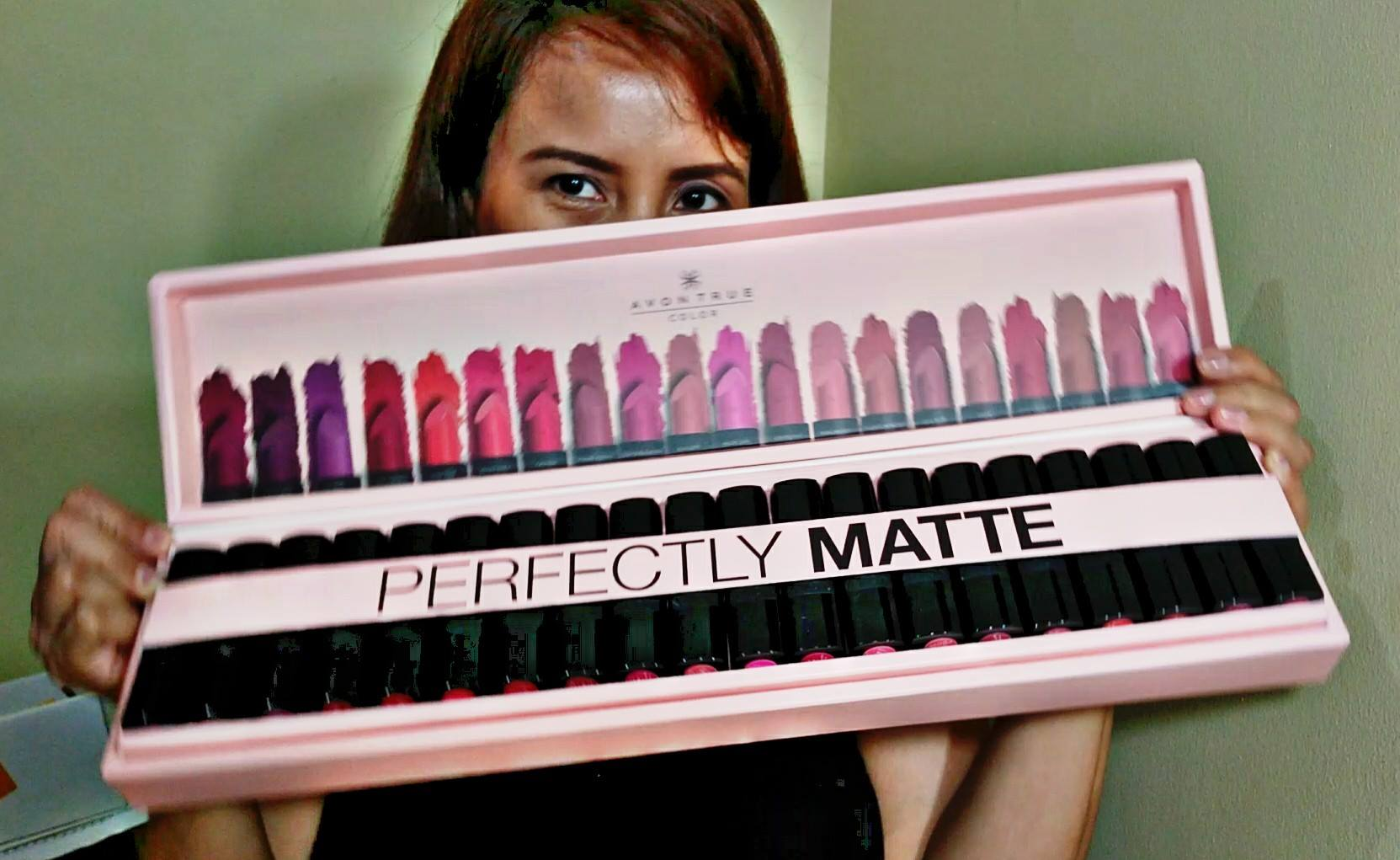 Swatch Party: Avon True Color Perfectly Matte Lipstick Shades Review + Marian Rivera-Dantes and Angel Locsin Lipstick Shade in the Avon TVC #PerfectlyMatte #AllforMatte