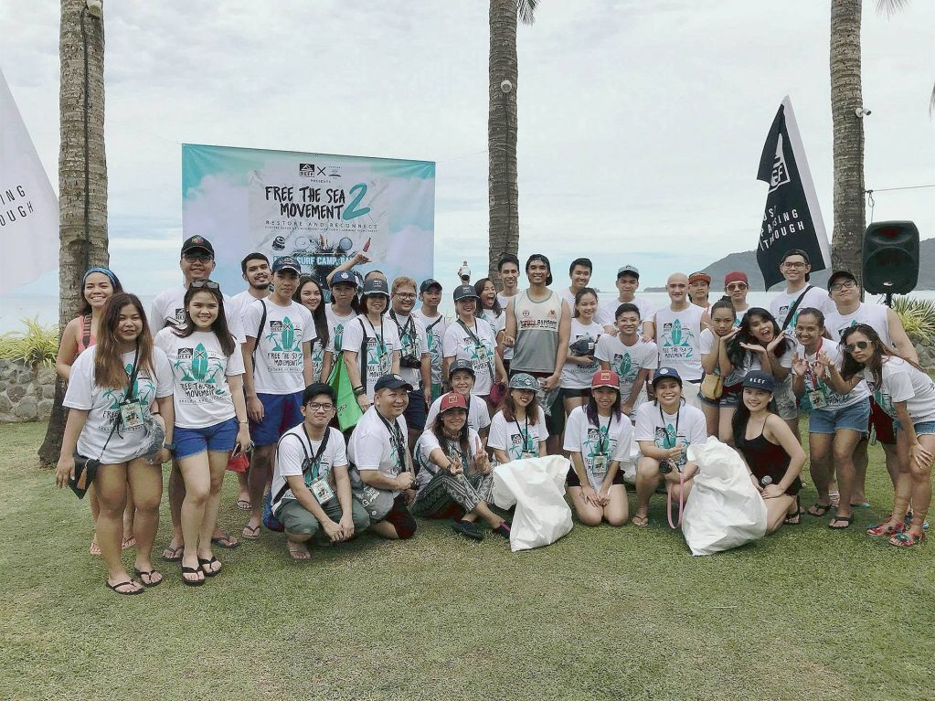 coastal cleanup with reef